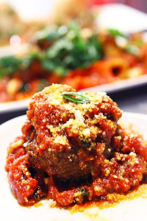 Martorano's meatballs