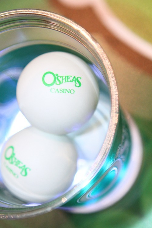 O'Sheas beer pong