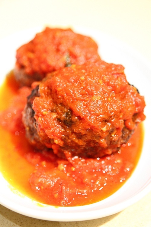 Roa's Las Vegas meatballs
