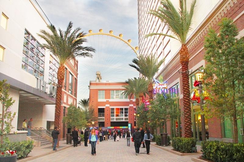 Linq district Las Vegas