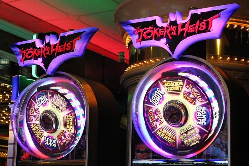 Joker's Heist slot machine