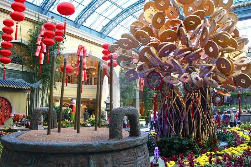 Bellagio Chinese New Year 2014