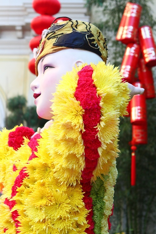 Bellagio Chinese New Year display