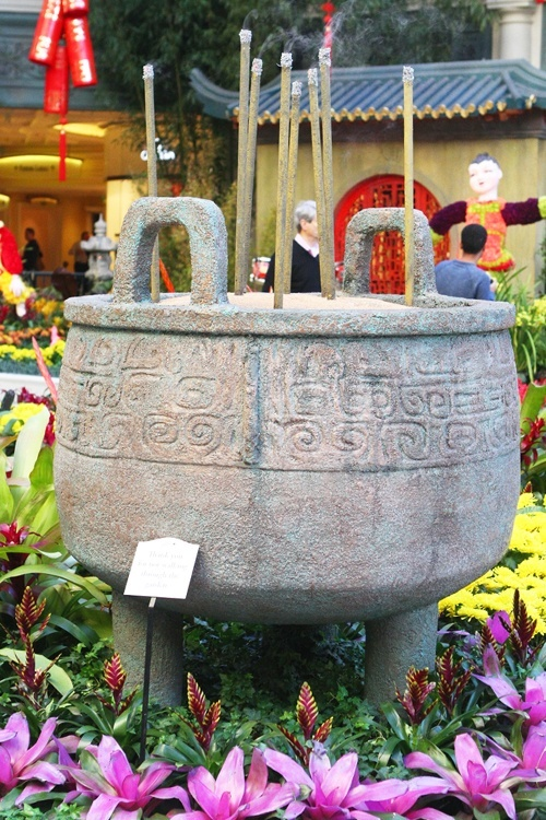 Chinese Ding pot