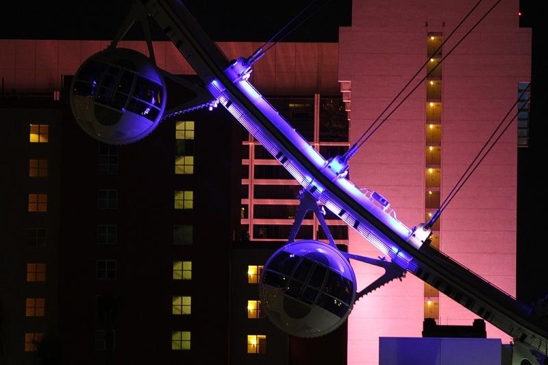 High Roller Ferris wheel