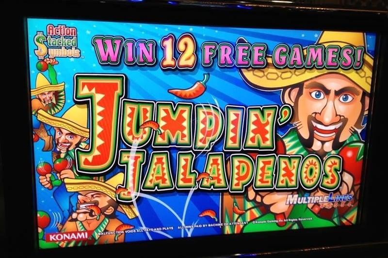Jumping Beans Slot Machine