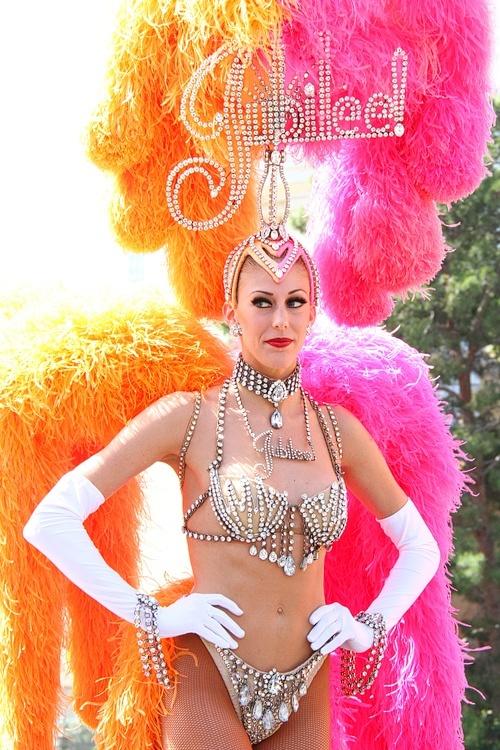 Jubilee showgirl