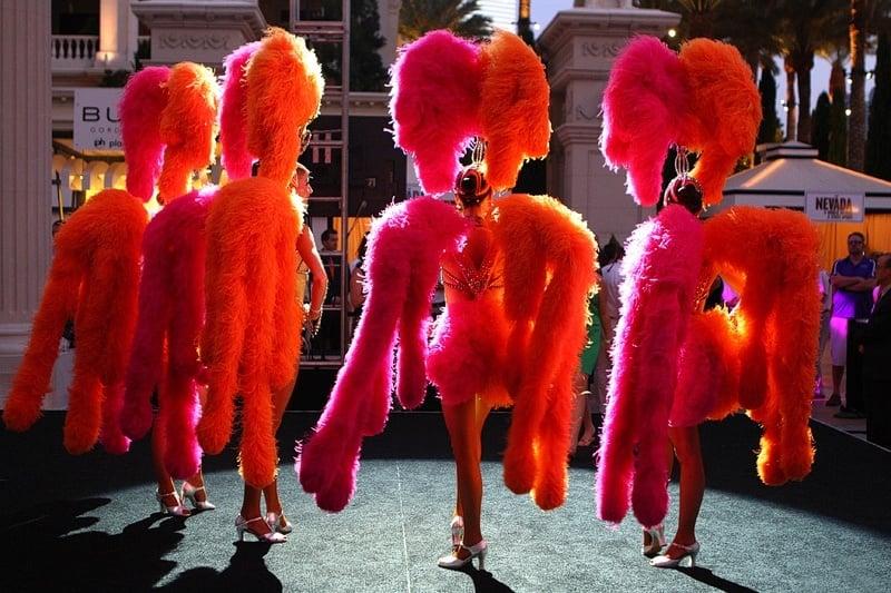 Jubilee showgirls