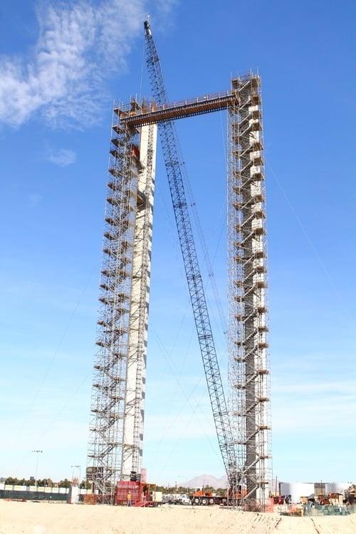 SkyVue Ferris wheel