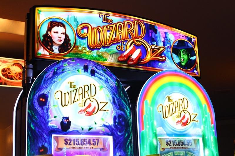 slot machines wizard of oz