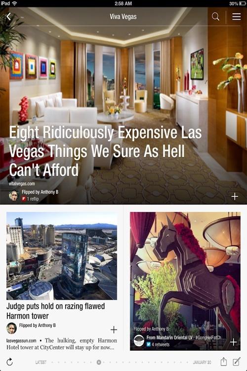 Viva Vegas on Flipboard