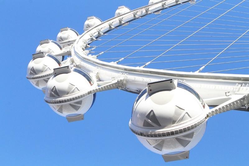 High Roller passenger pods