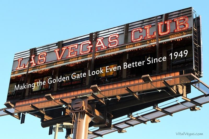 Las Vegas Club billboard