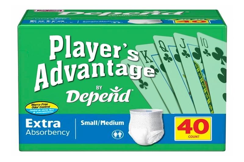 Gambling diaper