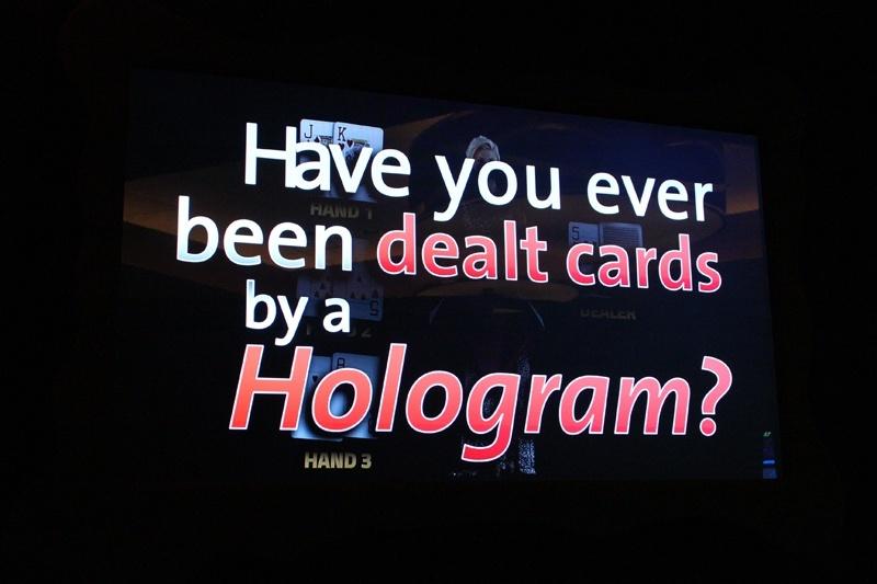 Tag Bar holographic dealer