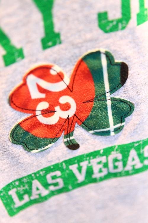 Vegas felt tee