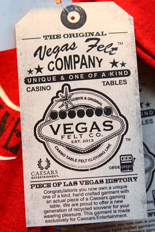 Casino felt T-shirt