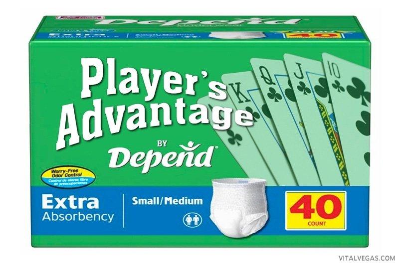 Gambler diaper