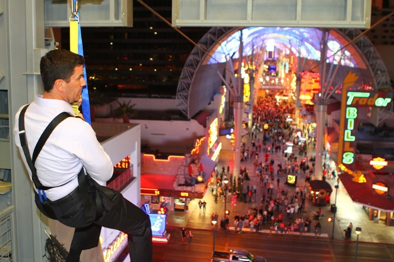 Downtown Las Vegas zipline