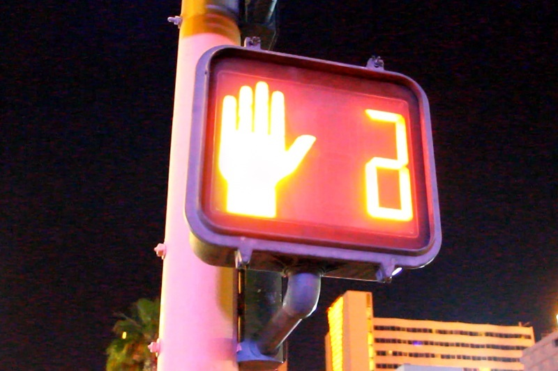Las Vegas traffic signal