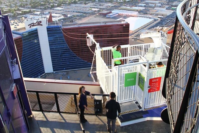 VooDoo Las Vegas zip line