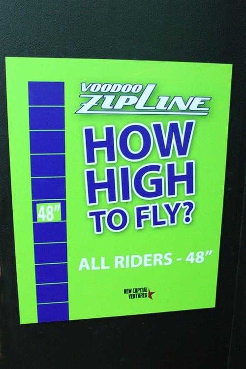 VooDoo zip line