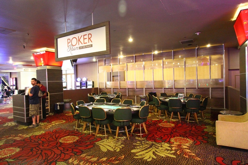 Plaza poker room
