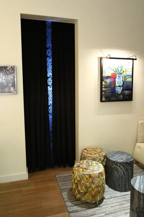 Giada's photo booth.