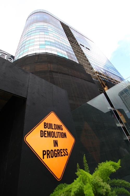 Harmon hotel demolition