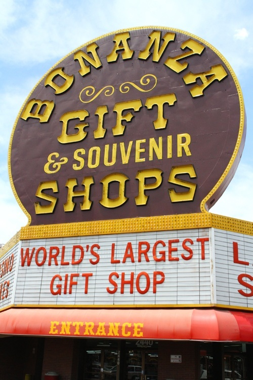 Bonanza gift shop Las Vegas