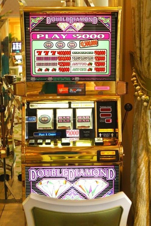 Wynn $5,000 machine