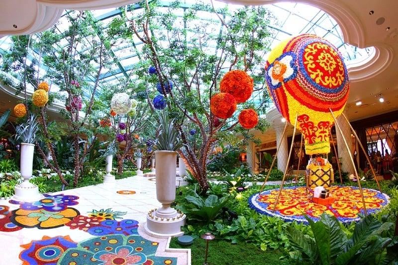 Wynn Las Vegas atrium