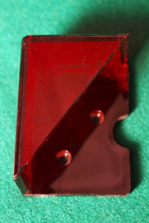 Blackjack discard tray