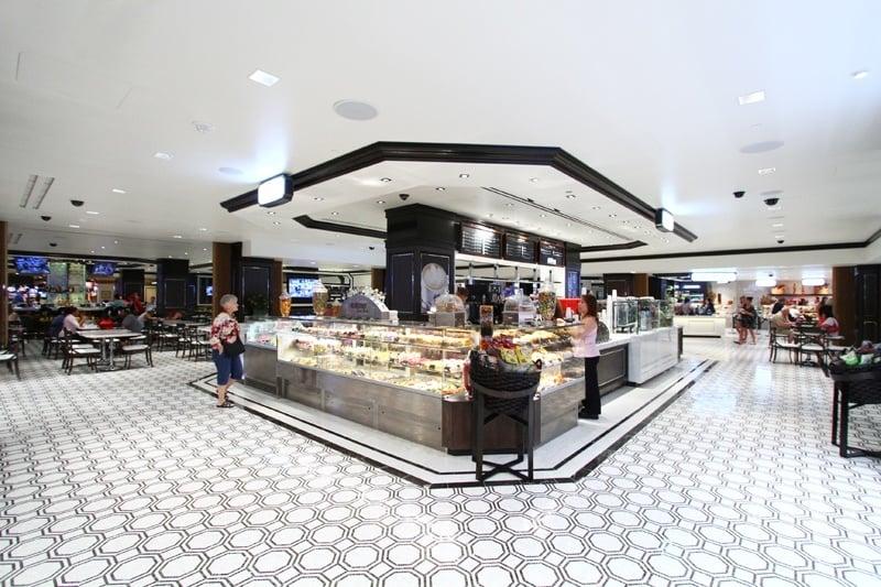 Harrah S Las Vegas Fulton Street Food Hall