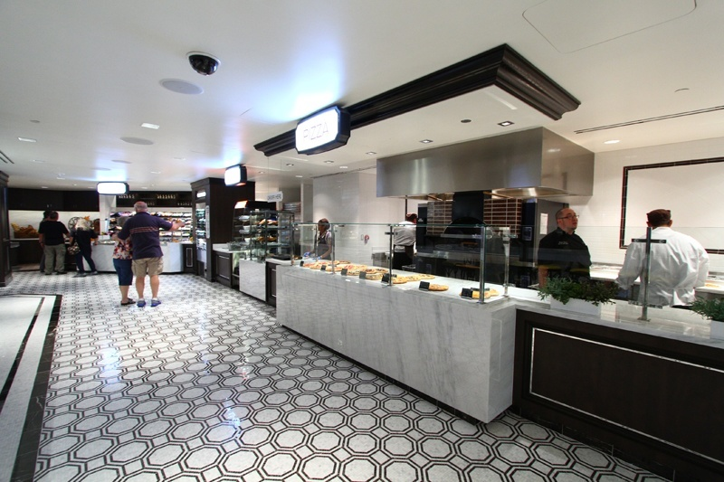 Fulton Street Food Hall pizza
