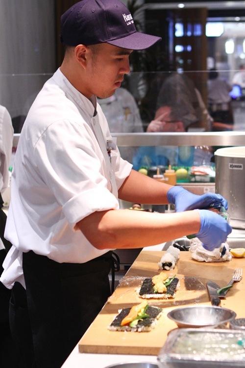 Fulton Street sushi chef