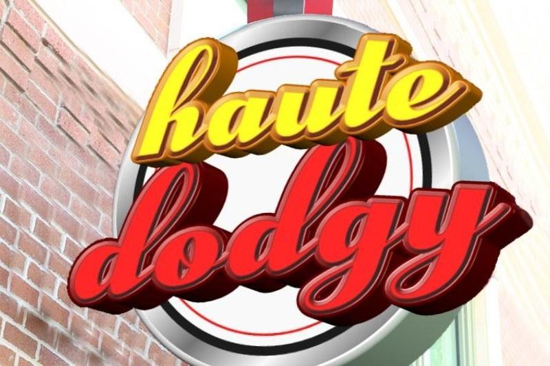 Haute Doggery sign