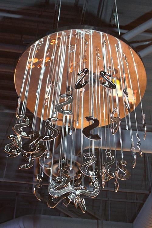 SLS chandelier