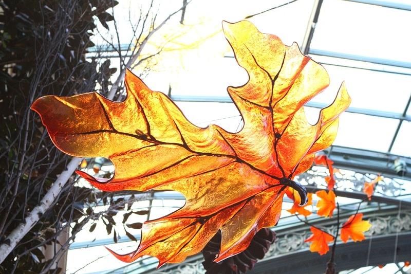 Bellagio Conservatory leaves