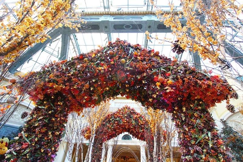 Bellagio Gardens pergolas