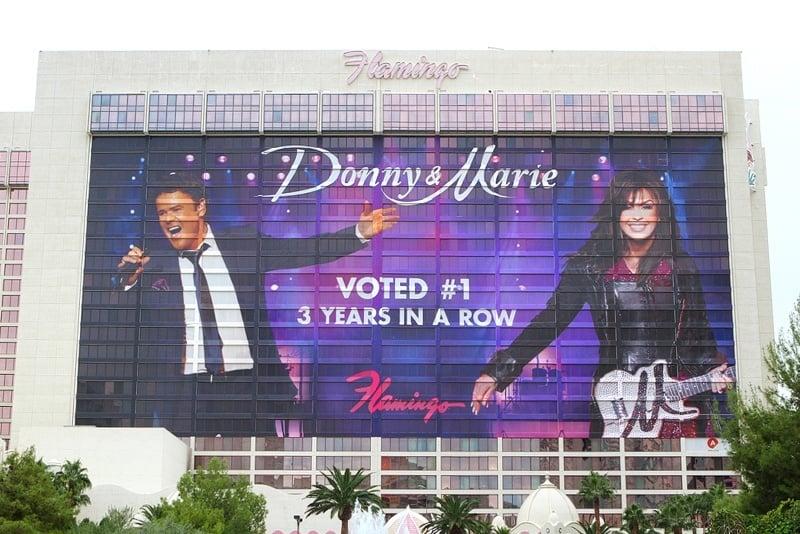 Donny & Marie wrap
