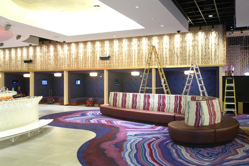 Linq lobby bar booths