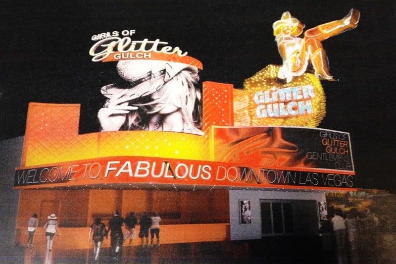 Glitter Gulch Bar rendering