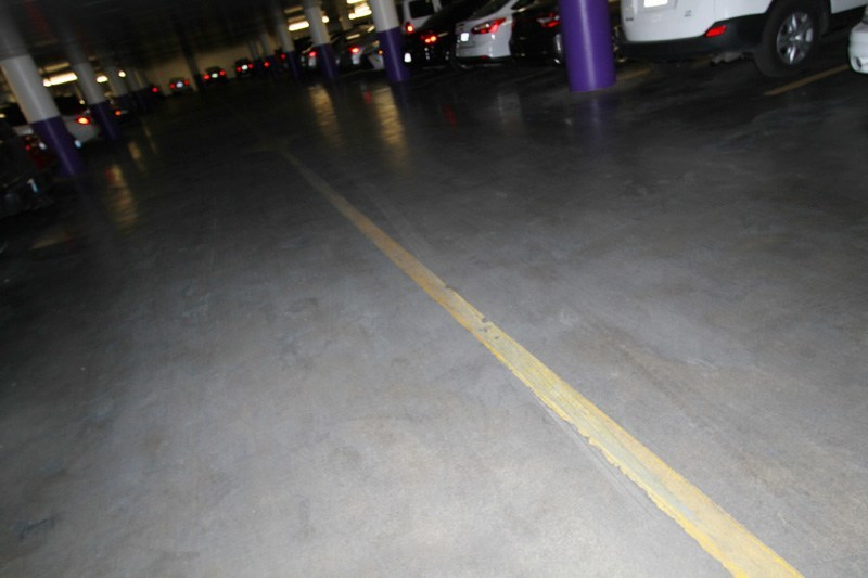 parking at the linq