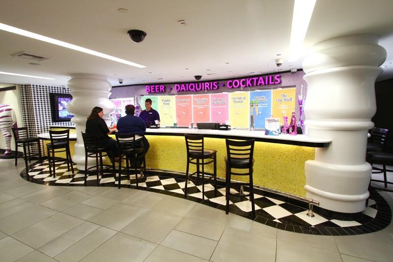 Linq Hotel Purple Zebra