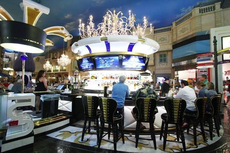 Renovated le central casino bar at paris las vegas is a stunner - Bar le central ...
