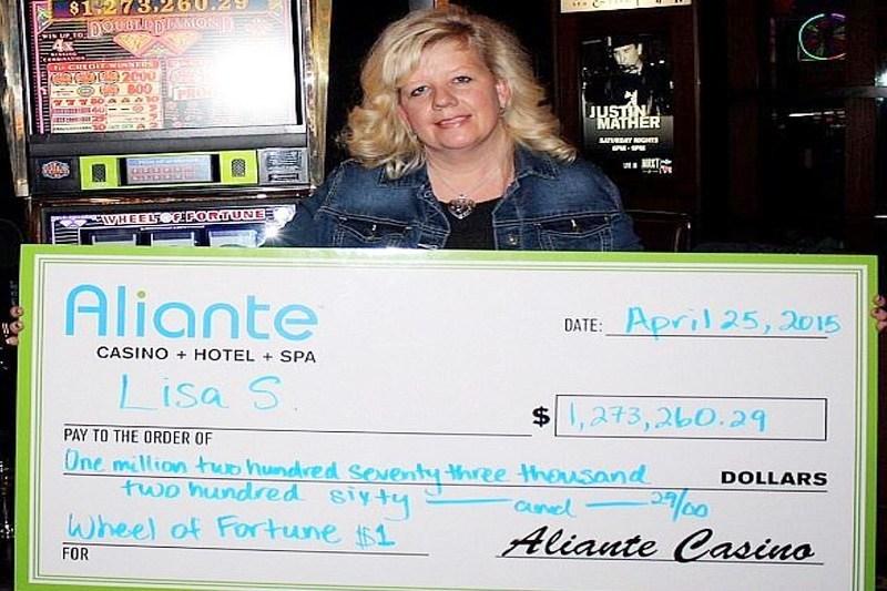 Aliante jackpot winner