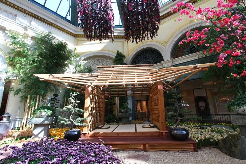 Bellagio tea house