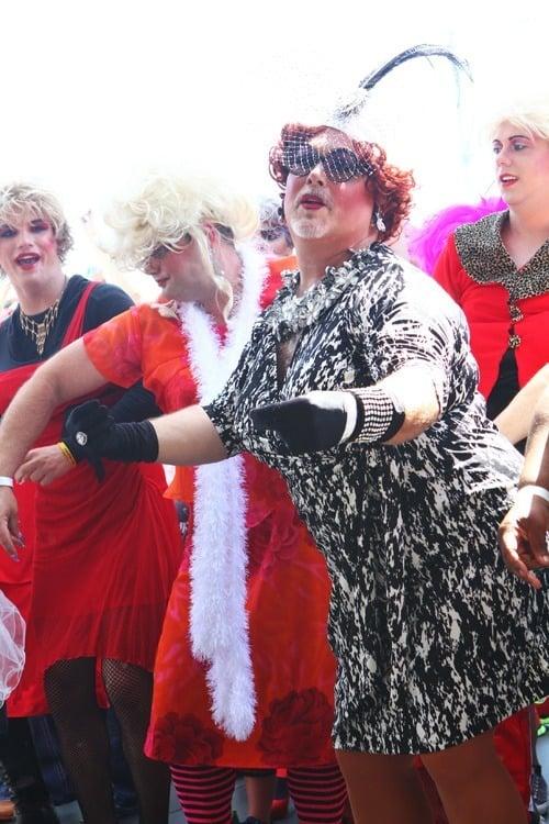 event ladies rainbow drag show april