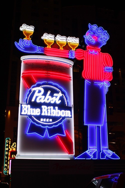 PBR neon sign